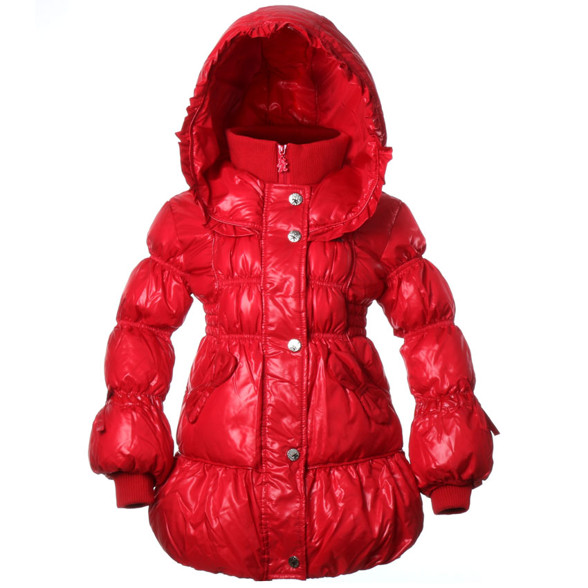 Girls Coats Hooded Zipper Jackets White Duck Down Winter Warm Outerwear  Fashion Clothing For 5-8 Years Children  BB6808Одежда и ак�е��уары<br><br><br>Aliexpress