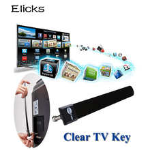 Digital Antenna Clear TV Key Fox HDTV Free Stick TVFox Indoor Antena 1080p Ditch Cable As Seen on TV Signal Enhancement US EU(China)