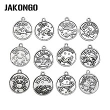 Buy JAKONGO Antique Silver/Bronze Plated Constellation Charm Pendants Jewelry Accessories Making Bracelet Findings DIY 20x18mm for $1.63 in AliExpress store