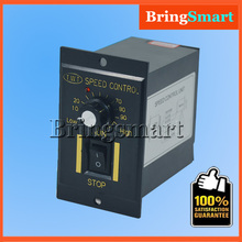 220V AC Gear Motor Speed Controller 6W-250W Reversing Controller Single-phase Moto Stepless Speed Regulation