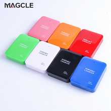 Powerbank 4X AA Battery Emergency USB Power Bank Charger Portable Charger for Phone Colorful Various Free Shipping(China)