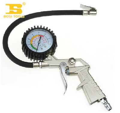 BOSI 150psi Rated Tire inflator With Gauge Inflating Tires of Vehicle<br>