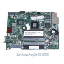 MBPCR0B014  MB.PCR0B.014 PN 1310A2264509 For acer aspire 3810T 3810TZ laptop motherboard Pentium SU4100 1.3GHz CPU DDR3
