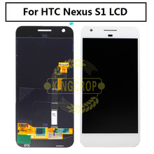 "For HTC Nexus S1 Google Pixel LCD Display With Touch Screen Digitizer Assembly Replacement Parts For 5.0"" Google Pixel Display(China)"