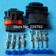5/10/50/100sets 4 Pin 3.5mm Auto airflow rate senser plug, Car axle load/intake pressure plug for Bosch connector plug 368162-1(China)