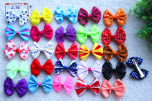 10pcs/5pairs Mix Designs dog topknot bows pet hair Clips Large Bowknot Style dog hair accessories pet grooming products