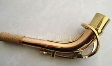 Advanced Alto saxophone neck red copper /pure copper body Great sound