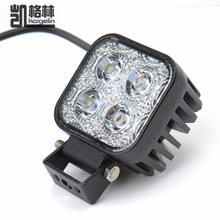 1PCS DC12-24V 12W Work Waterproof High Power Spot Light Off-board Car Boat Worklight For SUV Truck Car-styling