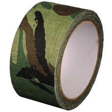 1 Roll 5cmx10m Outdoor Adhesive Duct Tape Camouflage Waterproof Army Bandage Hunting Airsoft Shooting Gun Tactical Tape Wraps