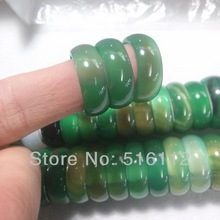 High Quality  Natural Green Jade ring Agate Ring Beautiful Jade Ring Men and Women Couple Jade Ring