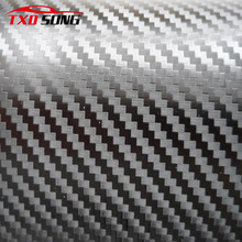 Big texture 3d carbon fiber film with air free bubbles with size: 10/20/30/40/50/60cmX152cm/Lot by free shipping