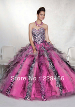 With Jacket Sweetheart Neckline Rainbow Lace Up Princess Colorful Ball Gown Quinceanera Dresses for 15 Years