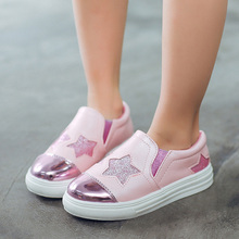 Kids boys girls slip on shoes spring glowing sneakers Baby casual Shoes Children flat Girl Boy walking sport shoes loafers