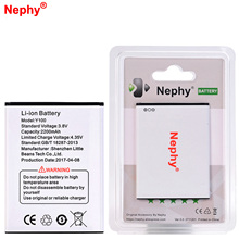 Nephy Original 2017 New Battery For Doogee Y100 Valencia 2 Y100 Pro Real Capacity High Quality Mobile Phone Replace Accumulator(China)
