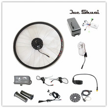 36V and 48V Electric Bicycle Kit With 250W/350W/500W Motor without Battery Ebike Conversion Kit Free Shipping By Air