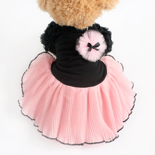 Armi store Flower Bubble Sleeve Dogs Princess Dresses Dog Dress 6071045 Pet Clothes Supplies XS, S, M, L, XL