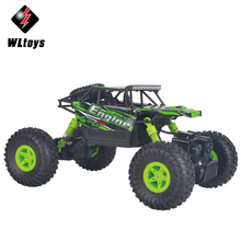 Buy WLtoys 18428 B RC Cars 1:18 Scale 2.4G 4 Wheel Drive Remote Control Off-Road Car Crawler RC Hobby Toy Car Vehicles Toys Gifts for $34.39 in AliExpress store