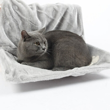 Super Soft Cat Hammock with Stable Frame Install Easy Sleeping Cat Kennel Multifunctional Cat Bed Radiator Pad Hanging Dog Bed