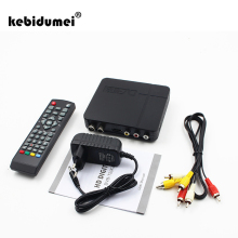 kebidumei Original Mini K2 HD DVB-T2 Digital Terrestrial Receiver Set-top Box For MPEG 4 Compatible with DVB-T for TV HDTV(China)