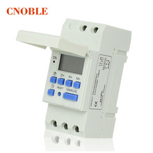 CE DIN RAIL DIGITAL PROGRAMMABLE TIMER SWITCH AC 220V / 110V ,DC 12V ,16A