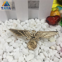 Retro Germany Eagle Fashion Metal Alloy Badge With A Pin German Militares Insignia Badge Wholesale Free Shipping