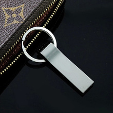Hot Waterproof Metal Silver usb flash drive Pen drive 64GB Pendrive Portable memory disk usb 2.0