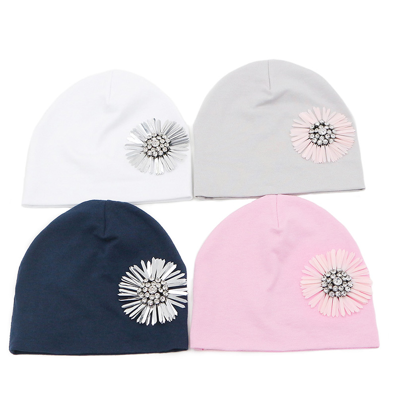 GZHilovingL Baby Hats For Girls Newborn Baby Girls Infant Toddler Flower  Hat Cotton Soft Pink White Hat Cap Spring Autumn Winter. IMG 3233 IMG 3441 79f9125868f5