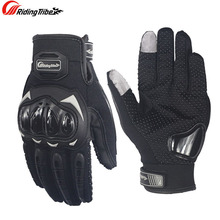 Genuine Riding Tribe Moto Motorcycle Gloves Men Women Winter&Summer Gants Luvas Guantes Motocross Protective Gear Racing Gloves(China)