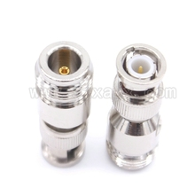 New RF connector BNC to N adapter BNC male Plug to N female Jack free shipping