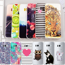 Soft TPU Pattern Phone Case For Samsung Galaxy J3 J5 J7 Prime J1 Mini 2016 For Samsung A3 A5 A7 2017 S8 Back Cover Housing Coque(China)