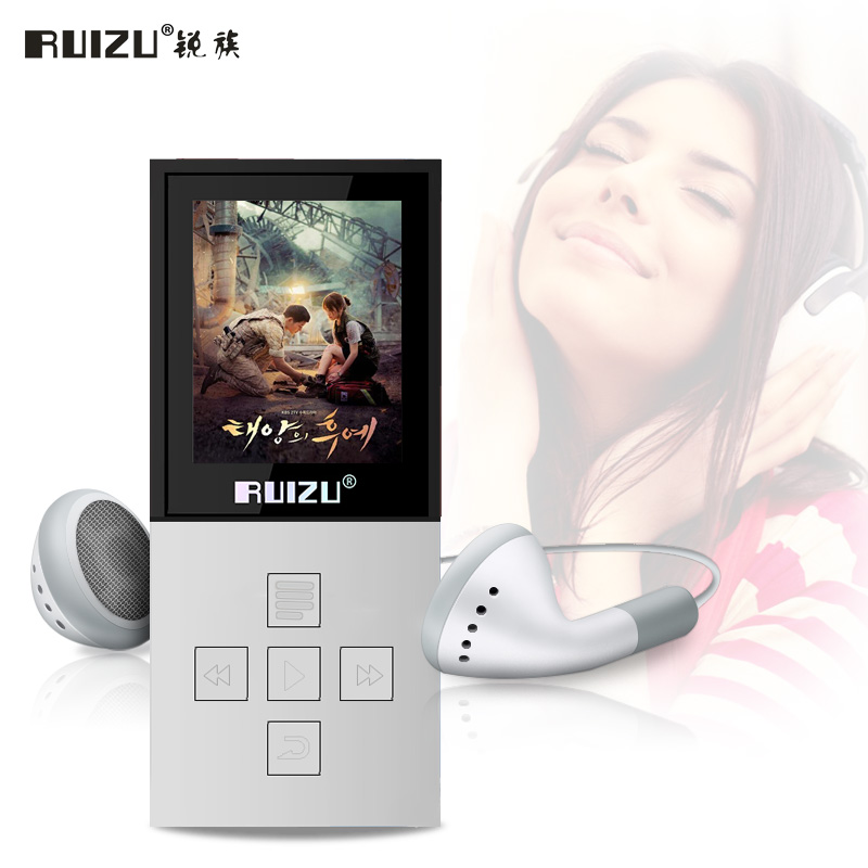 Bluetooth MP3 Player Original RUIZU X18 with 8G can play 130hours high quality lossless Voice Recorder FM Radio music player(China (Mainland))