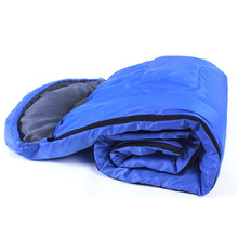 Brand new and high quality Outdoor Light Sleeping Bag Camp Hiking Carrying Case Blue Fall Spring Single#20(China)