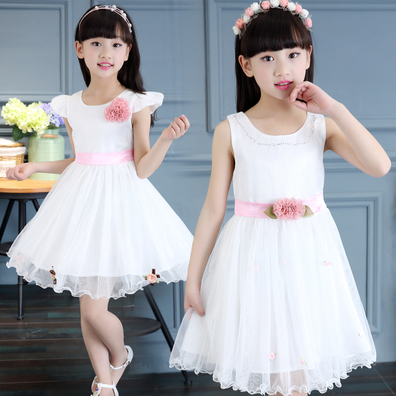 2017 Kindstraum Children Flowers Ball Gown Top Quality Gils Summer Voile Princess Ball Gown Party Casual Dress for Kids,RC596<br><br>Aliexpress