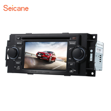 In dash DVD Player Radio GPS Navi Stereo for 2006 2007 2008 Jeep Commander Compass Support Bluetooth IPOD Music Rearview Camera