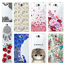 Buy Geruide Coque Sony S39h Case Cover Attractive Painting Soft Silicon Back Case Sony Xperia C S39H C2305 C2305 2305 Cases for $1.99 in AliExpress store