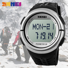 Pedometer Heart Rate Monitor homens relogio Digital Watch Fitness For Men Women Outdoor Top Brand Sports Wristwatches 1058