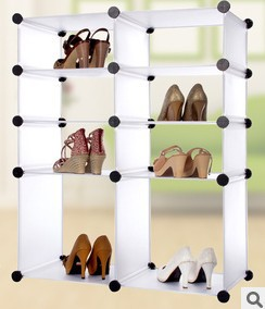 Shoe Rack finishing cabinet DIY magic piece combination the shelf diy magicaf Cabinet Shoebox PO0008<br>