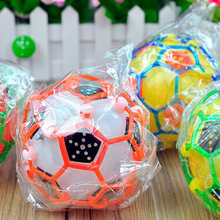 LED Light Jumping Ball Kids Crazy Music Funny Football Toy