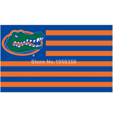 Florida Gators With Modified US Flag 3ft x 5ft Polyester NCAA Banner Flying Custom flag 90x150cm(China)