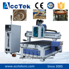 Most popular High quality ATC CNC Router 1325 with servo motor and vacuum table for complex furniture