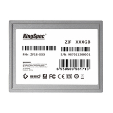 KingSpec ZF18-128 1.8 inch ZIF CE Interface IDE SSD Hard Drive Disk 128GB Solid State Drive IDE Flash Drive For Ultrabook(China)