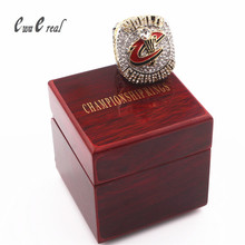 2016 Knight Champion Ring / Super Bowl Ring Wooden Box / Cleveland Brown James / 8 to 15 Manufacturers Quick Shipping