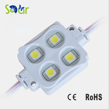 200pcs Injection Led Module 5050 smd 4 LED 12V 0.96W Waterproof IP66 For Sign and advertising backlighting lamp box(China)