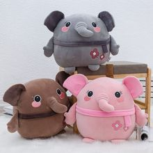 Kawaii Plush Pink Baby Elephant Toy Cute Cartoon Plush Stuffed Koala Bear Christmas Birthday Gift For Girlfriend Children Kids