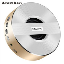Abuzhen Portable Wireless Bluetooth Speakers V4.0 with Metal High Quality Design HD Sound and Bass for iPhone iPod iPad Phones(China)