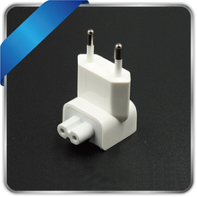 wall ac detachable electrical euro eu plug duck head for apple ipad iphone usb charger macbook power adapter European