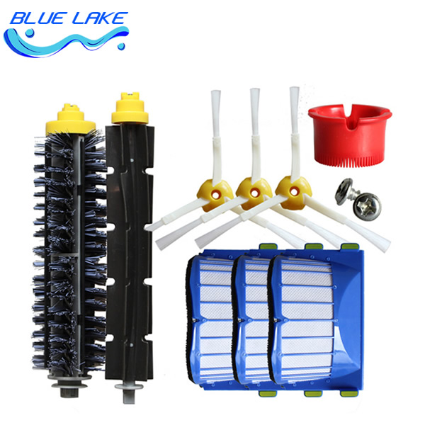 Original OEM,cleaning sweeping robot Beater brush/Filter,600 Series Replenishment Kit,vacuum cleaning robots parts Accessories<br>