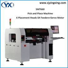 64 Feeders Pick and Place Machine SMD Soldering Machine SMT Equipment with High-pixel Cameras Contrapuntal Programming