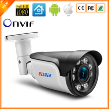 BESDER 2.8mm-12mm 3X Manual Zoom IP Camera Outdoor Surveillance Bullet ONVIF CCTV Camera 720P 960P 1080P Optional Motion Detect(China)