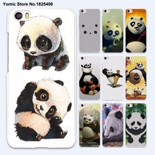 cute baby Kung Fu Panda anime (1) hard White Case Cover for xiaomi mi 5 5s Plus 4 4c 4s redmi 3 3s 4A note 3 4 phone case(China)
